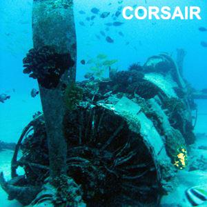 Corsair Wreck Dive